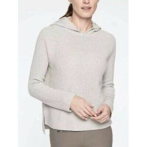 Athleta Rest Day Ribbed Hoodie Pullover Size XXS